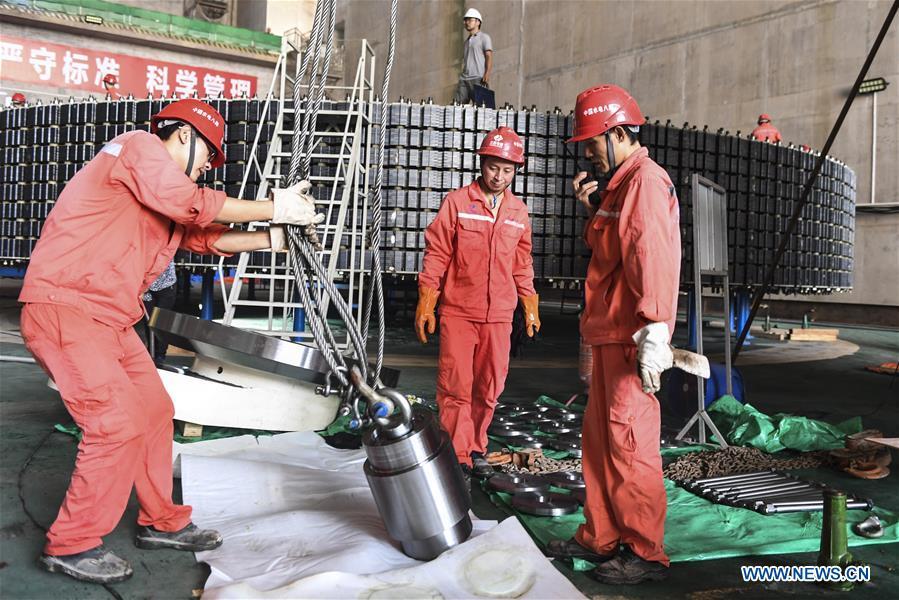 中国-广西-桂平-水坝建设(CN)