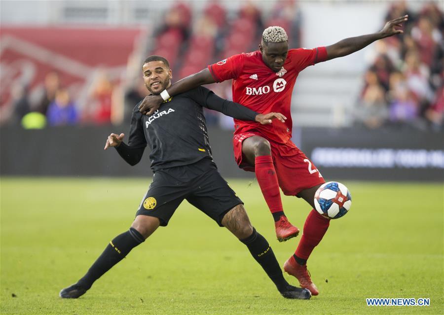 (SP)加拿大-TORONTO-SOCCER-MLS-TORONTO FC VS哥伦布船员SC