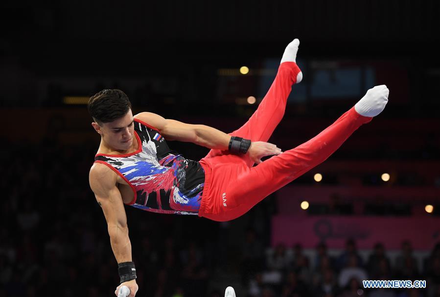 (SP)德國-斯圖加特-FIG-藝術體操世界錦標賽-男子資格賽