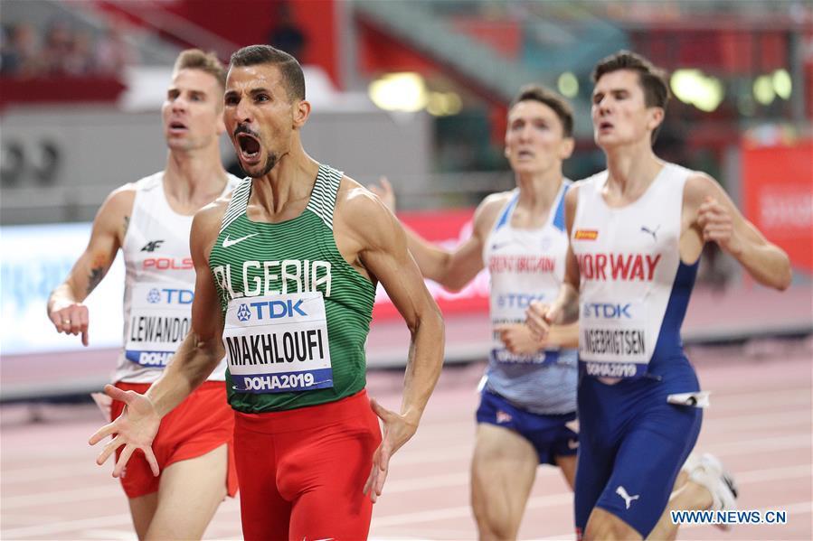 (SP)卡塔爾-多哈-競技-國際田聯世界錦標賽-男子1500M