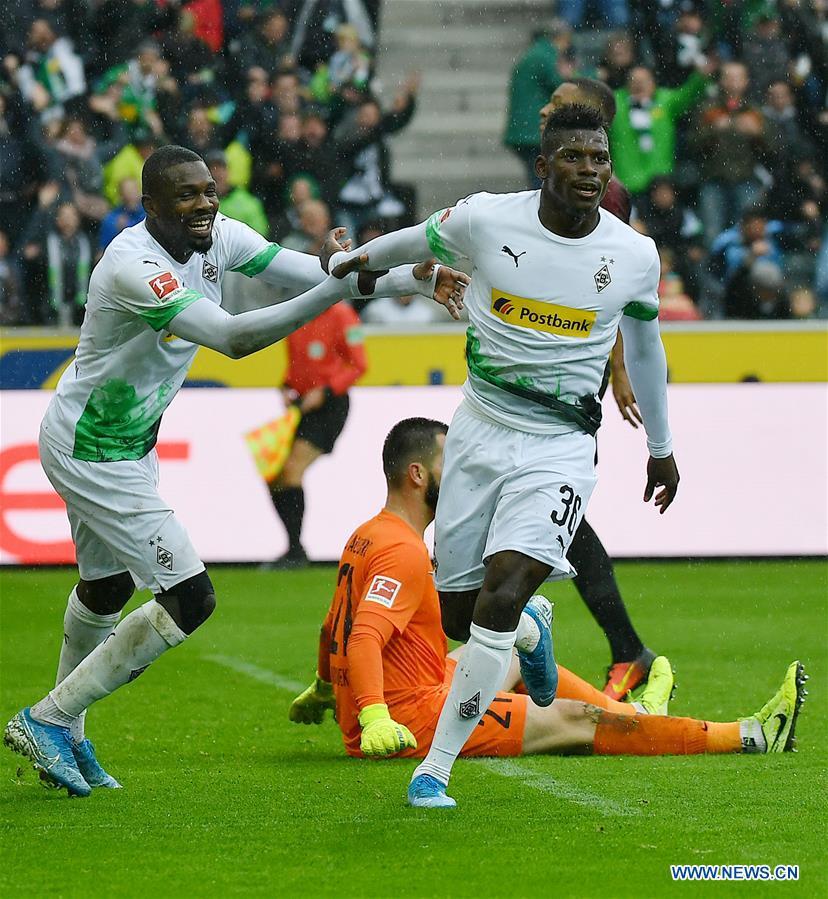 Bundesliga Soccer Match Borussia Monchengladbach Vs Fc Augsburg Xinhua English News Cn