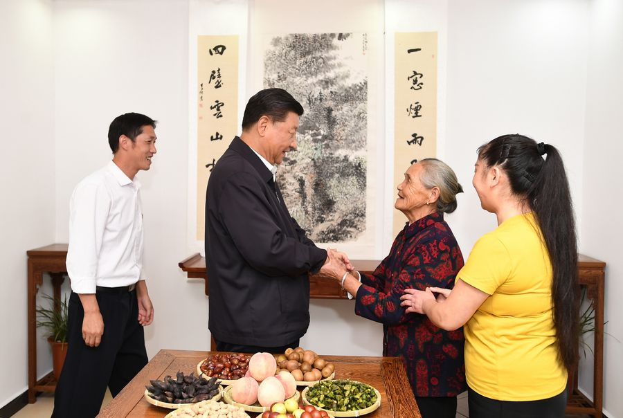 Xi extends Seniors' Day greetings - Xinhua | English.news.cn