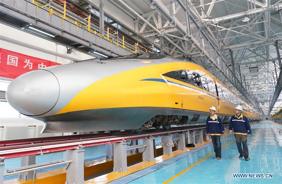 中国北京张家口高速铁路维修站(CN)