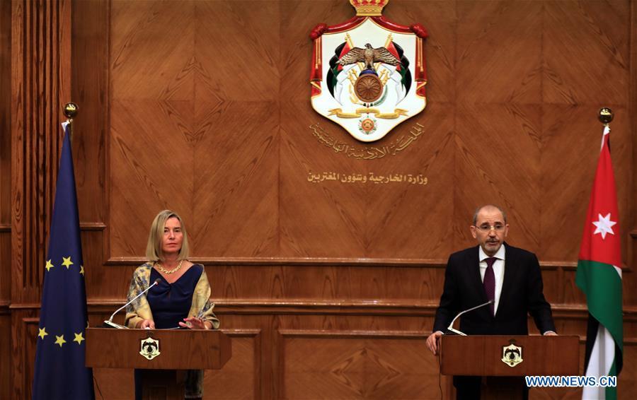 约旦-阿曼-欧洲联合新闻发布会