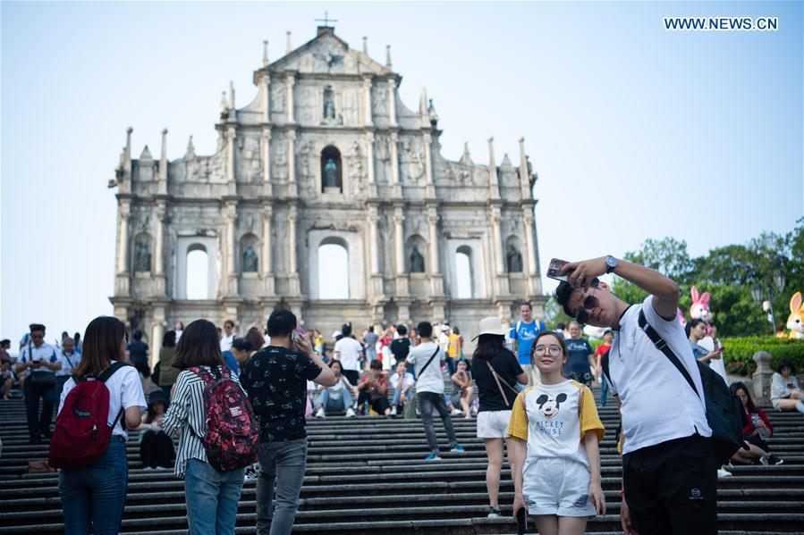 CHINA-MACAO-GOLDEN WEEK-TOURISM(CN)