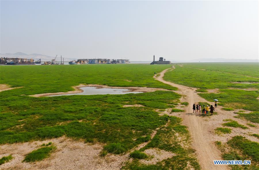 CHINA-JIANGXI-POYANG LAKE-DRY SEASON (CN)