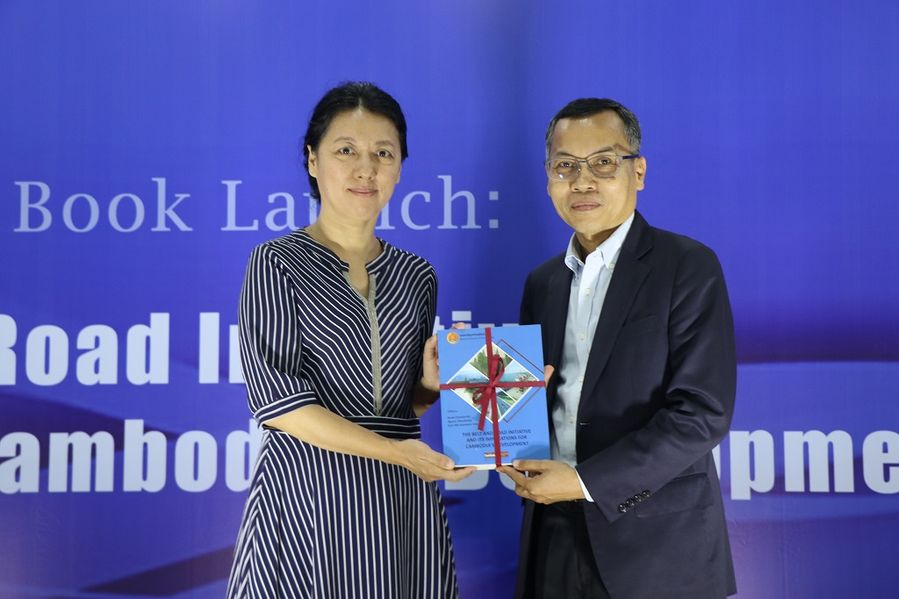 Book on China's BRI, its implications for Cambodia's development launched - Xinhua | English.news.cn