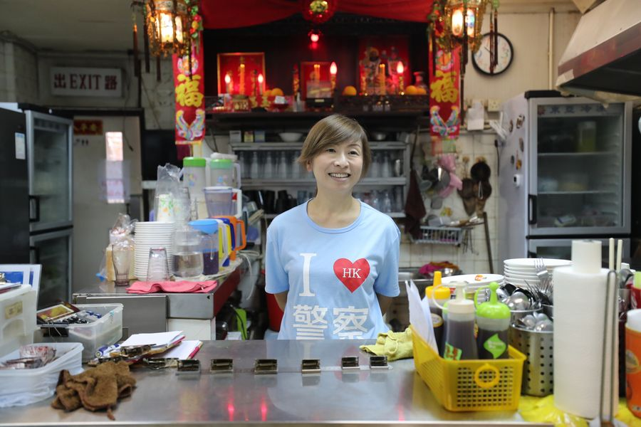 Tea Restaurant Becomes Beacon of Courage for ordinary people in Hong Kong - Xinhua | English.news.cn