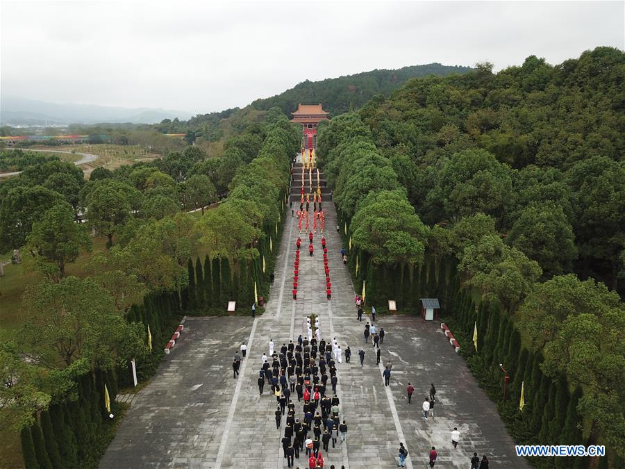 CHINA-HUNAN-ANCESTOR-EMPEROR YANDI-CEREMONY (CN)
