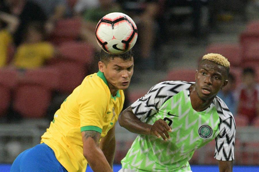 (SP)新加坡足坛大赛巴西VS尼日利亚