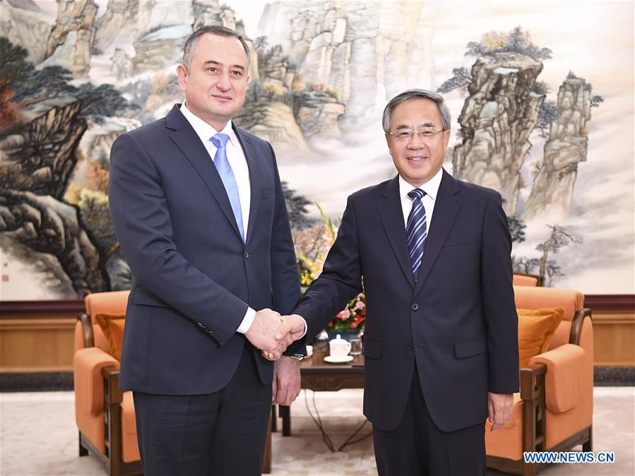 chinese vice premier meets tajik first deputy pm