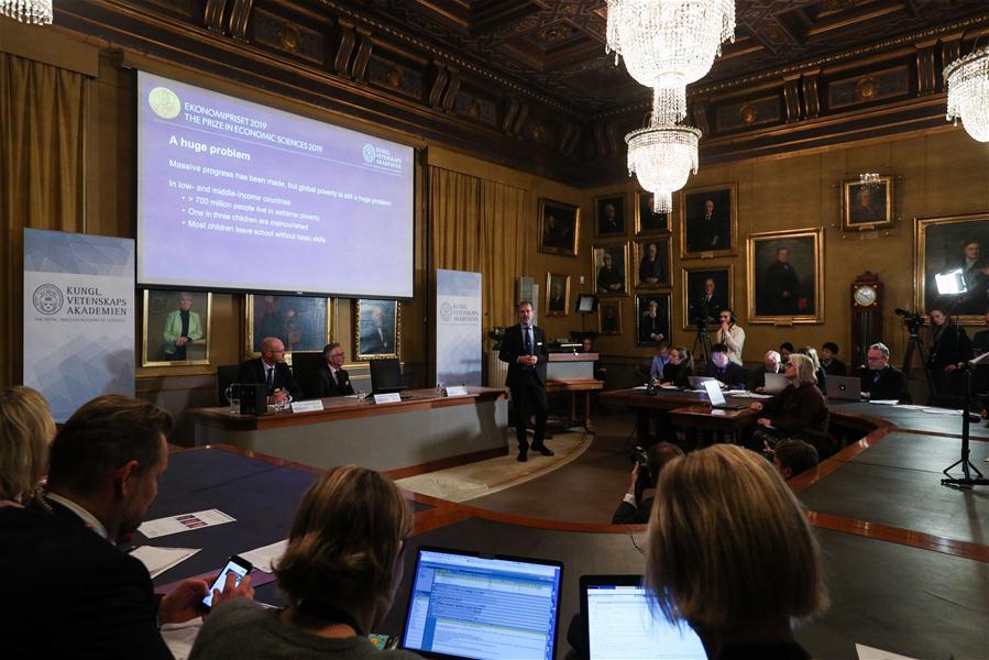 SWEDEN-STOCKHOLM-NOBEL-ECONOMICS