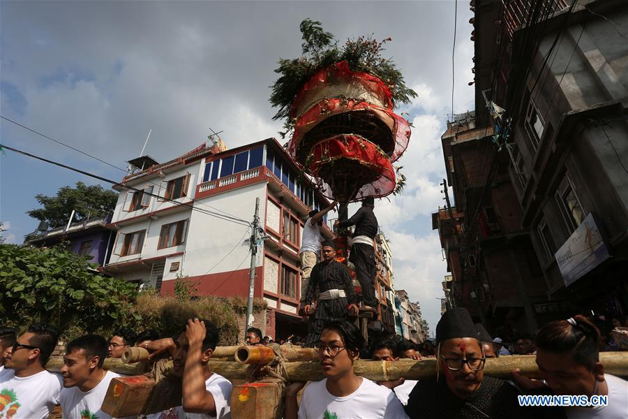 NEPAL-KATHMANDU-HADIGAUN FESTIVAL