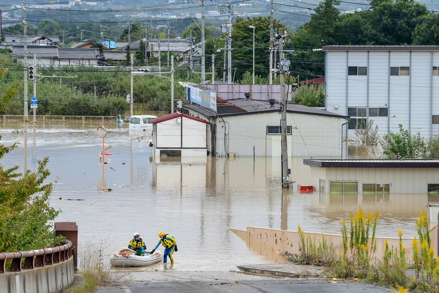Typhoon Hagibis death toll rises to 58 in Japan, with 14 others still missing - Xinhua   English.news.cn