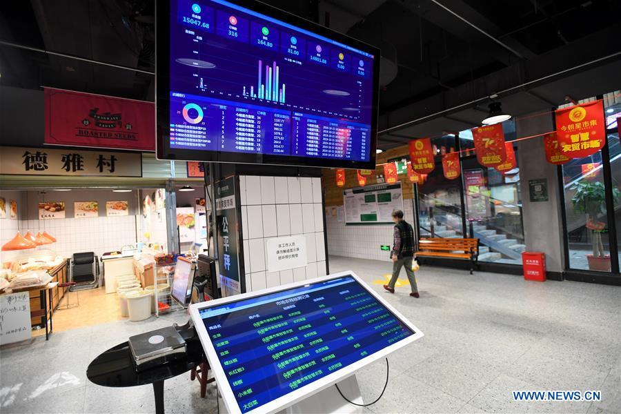 CHINA-CHANGSHA-SMART-MARKET (CN)