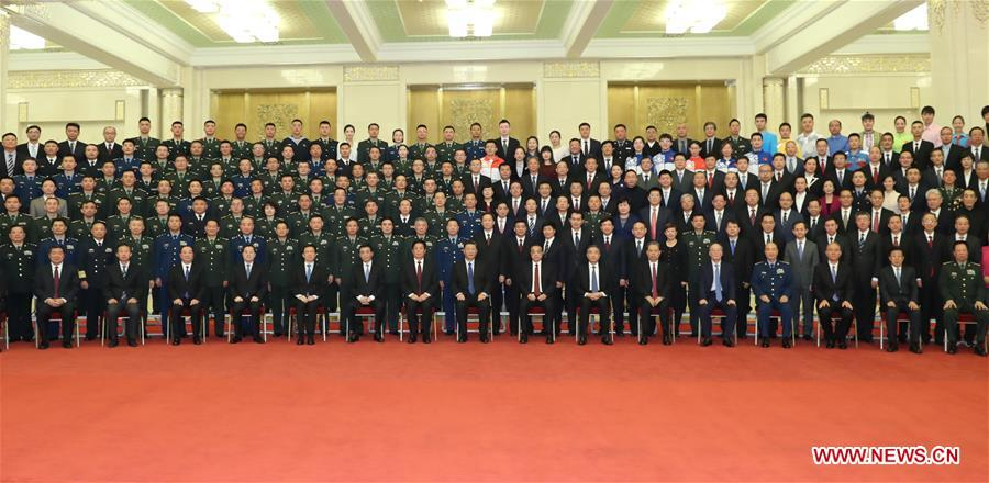 CHINA-BEIJING-XI JINPING-PRC-ANNIVERSARY-CELEBRATIONS-PERSONNEL(CN)