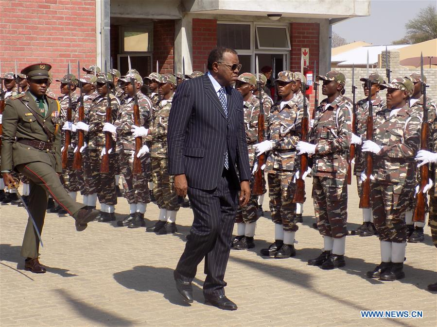 Chinese-funded military college inaugurated by Namibia's President - Xinhua   English.news.cn