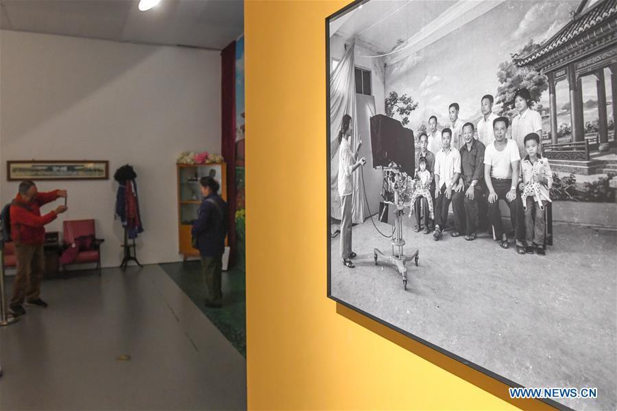 CHINA-CHANGSHA-MUSEUM-PRC-70TH FOUNDING ANNIVERSARY-EXHIBITION (CN)
