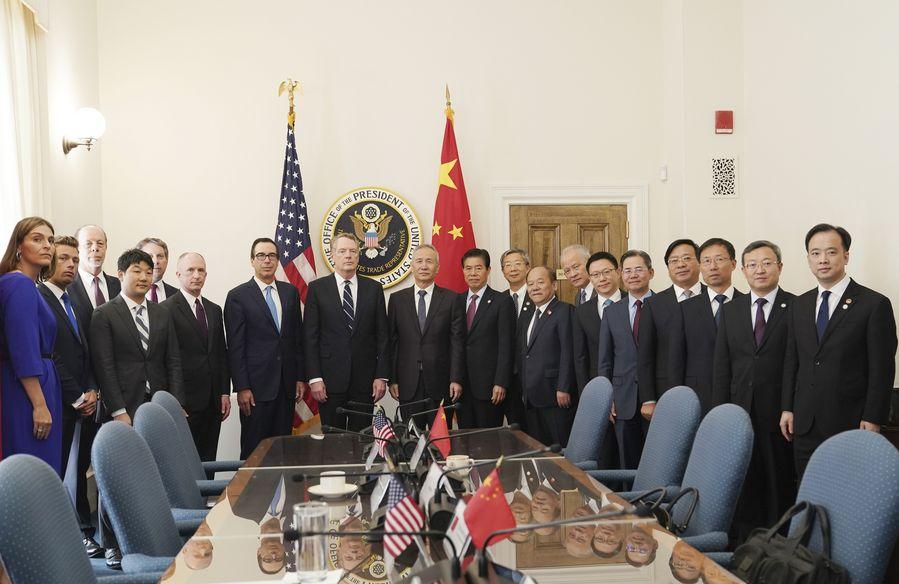 "IMF chief hails progress in China-U.S. trade talks, urges ""trade peace"" - Xinhua   English.news.cn"