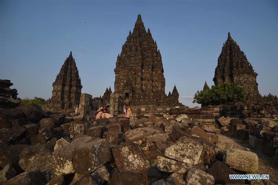 印度尼西亚-中爪哇-普拉姆班南神庙