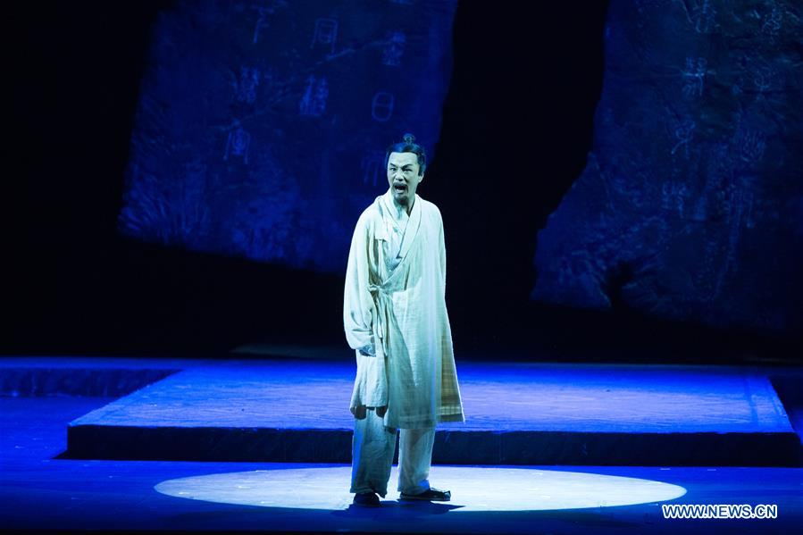 RUSSIA-ST. PETERSBURG-CHINA-STAGE PLAY-SIMA QIAN