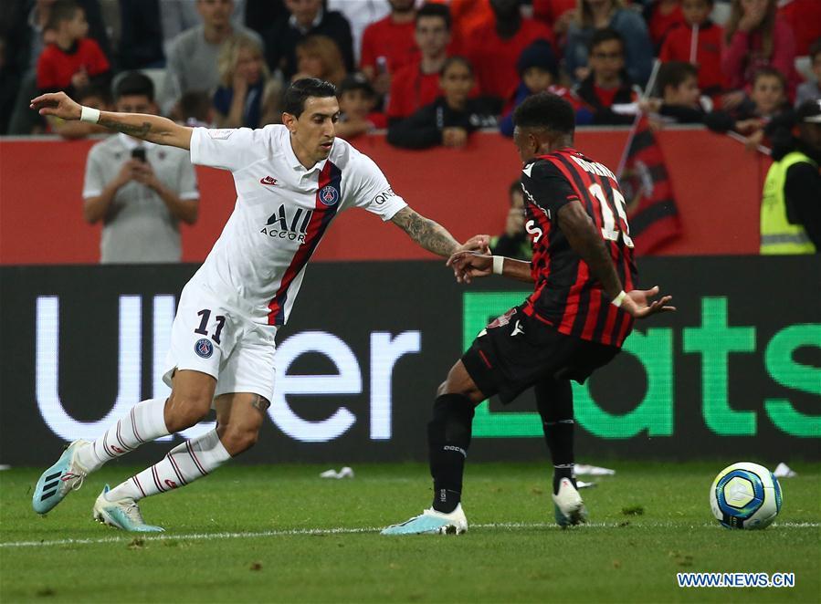 French Ligue 1 Paris Saint Germain Vs Nice Xinhua English News Cn