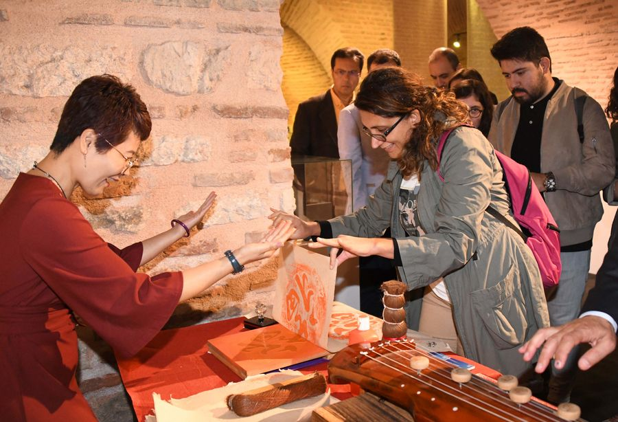 Exhibition on Chinese traditional fine arts opens in Turkey's Istanbul - Xinhua   English.news.cn