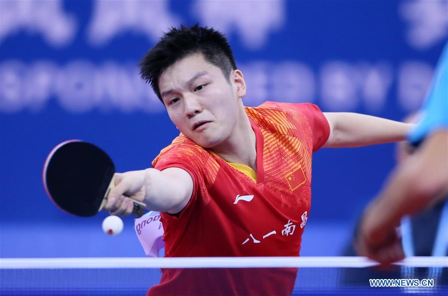 (SP)中国武汉第7届世界军事锦标赛桌上型网球