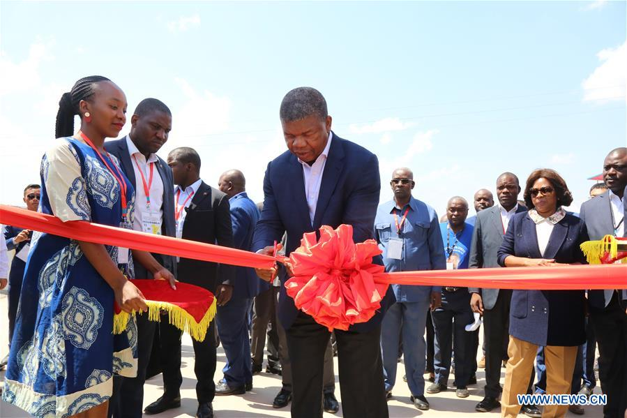 ANGOLA-KUITO-CHINESE-BUILT WATER SUPPLY PROJECT-INAUGURATION CEREMONY