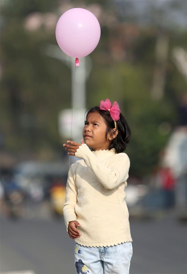 NEPAL-LALITPUR-BREAST CANCER AWARENESS-WALKATHON