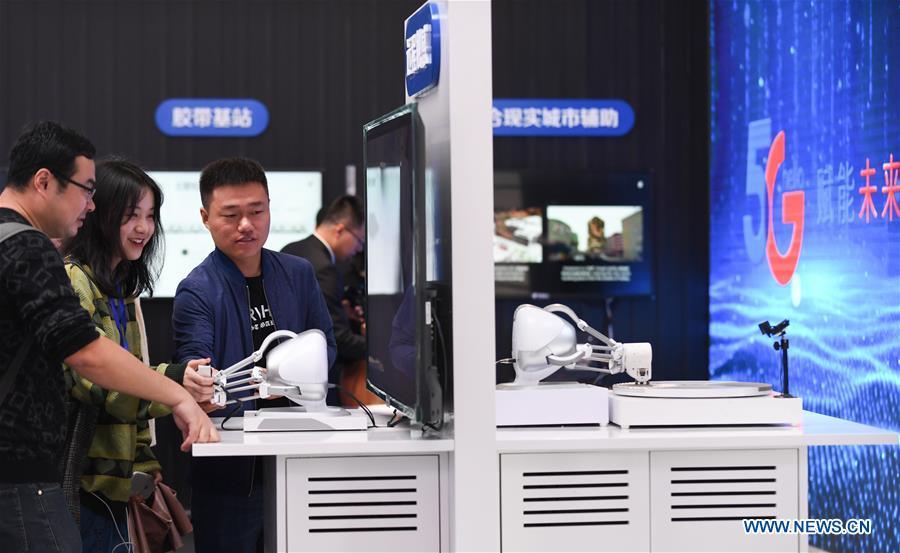 CHINA-ZHEJIANG-WUZHEN-WORLD INTERNET CONFERENCE-5G TECHNOLOGY (CN)
