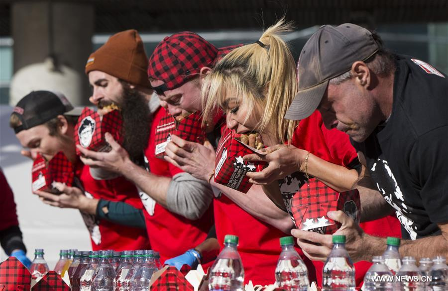 CANADA-TORONTO-WORLD POUTINE EATING CHAMPIONSHIP