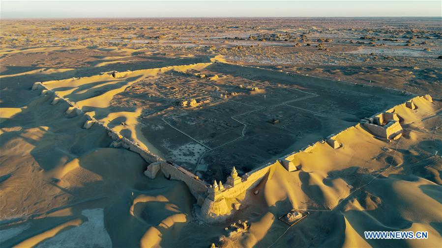 CHINA-INNER MONGOLIA-HEICHENG RELIC SITE (CN)