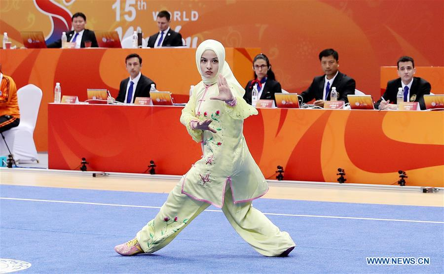 (SP)CHINA-SHANGHAI-WUSHU-WORLD CHAMPIONSHIPS (CN)