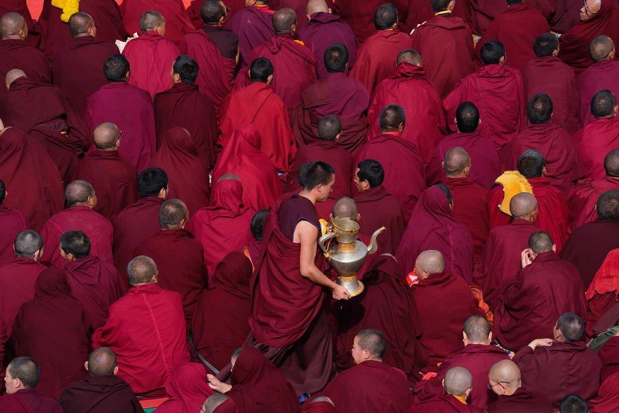Happy 600th birthday to Sera Monastery in SW China's Tibet - Xinhua   English.news.cn