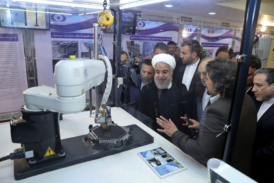"Iran's nuke industry totally ""indigenized:"" official - Xinhua 