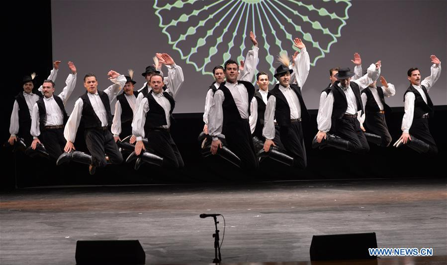 KUWAIT-HAWALLI GOVERNORATE-HUNGARY-CULTURAL SHOW