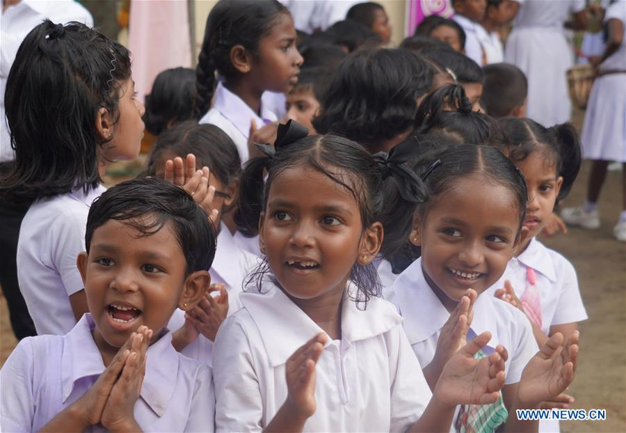 Feature China Gifts Well Equipped School Building To Remote Sri Lankan Village Xinhua English News Cn