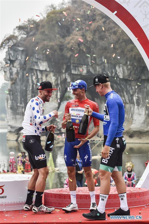(SP)CHINA-GUILIN-CYCLING-UCI WORLDTOUR-TOUR OF GUANGXI (CN)