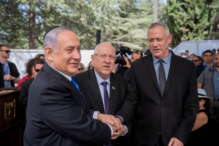 Israeli president to task Gantz with forming gov't - Xinhua | English.news.cn