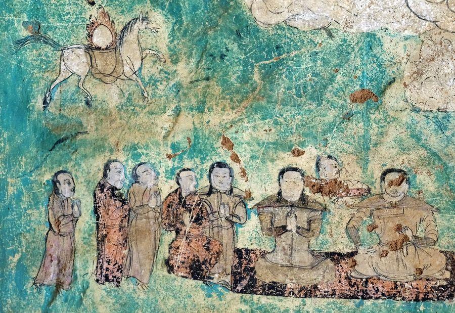 China to restore frescoes of grassland grottoes - Xinhua   English.news.cn