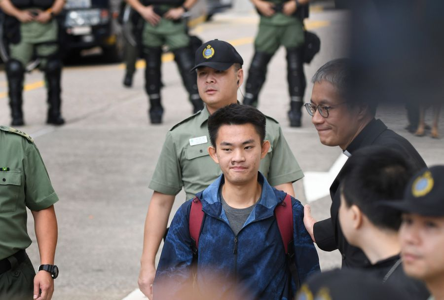 Taiwan has no authority to send officers to Hong Kong to escort suspect: HKSAR gov't - Xinhua | English.news.cn
