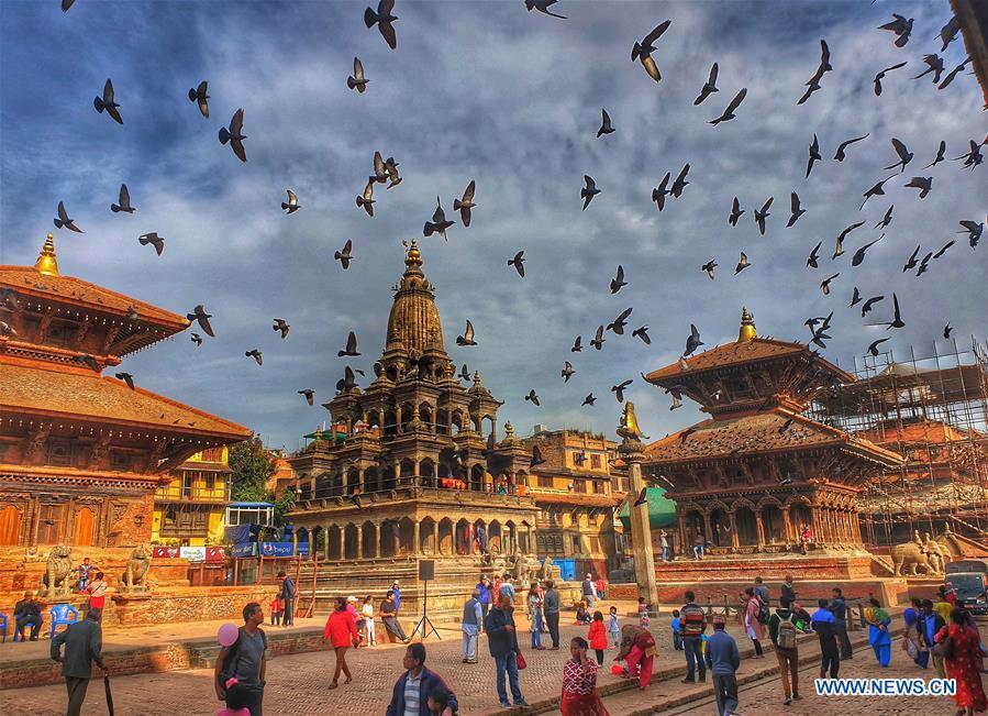 NEPAL-LALITPUR-PATAN DURBAR SQUARE