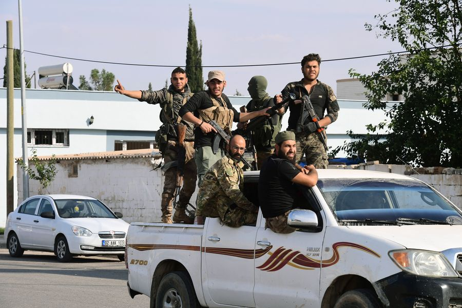 Trump lifts sanctions against Turkey over ceasefire in Syria - Xinhua | English.news.cn