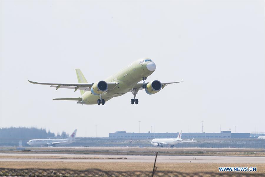 CHINA-SHANGHAI-FIFTH C919-MAIDEN TEST FLIGHT (CN)