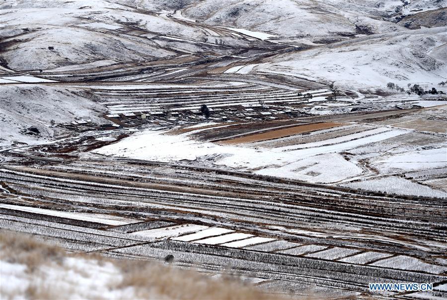 CHINA-INNER MONGOLIA-DAQING MOUNTAIN-SNOW-SCENERY (CN)