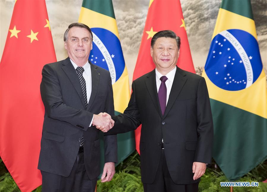 CHINA-BEIJING-XI JINPING-BRAZILIAN PRESIDENT-TALKS (CN)
