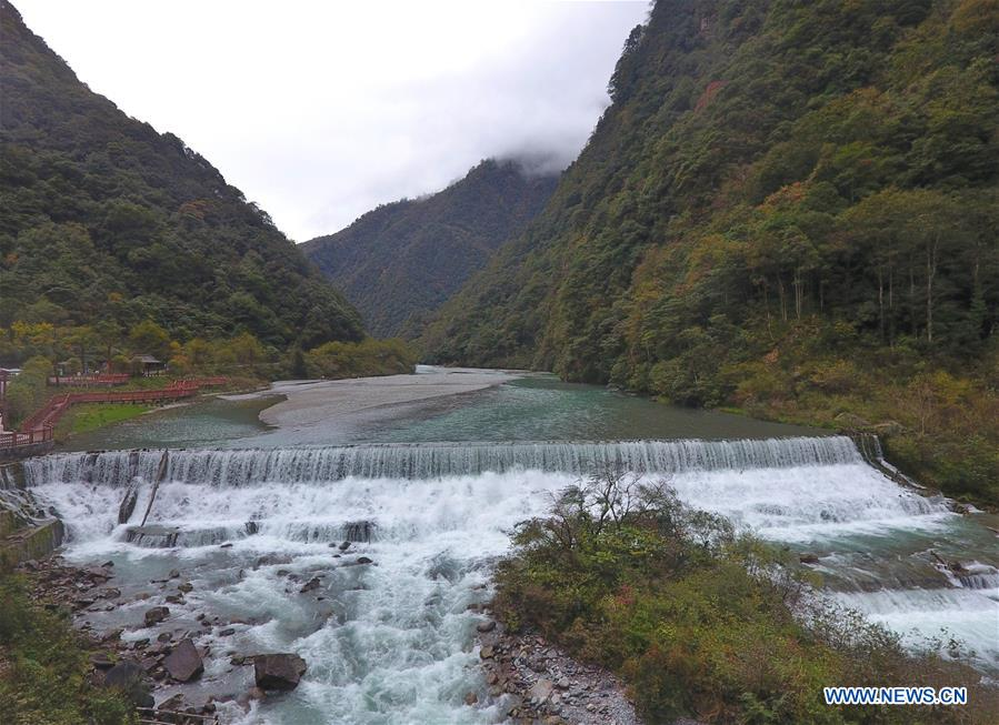 CHINA-SICHUAN-TIANQUAN-AUTUMN SCENERY (CN)