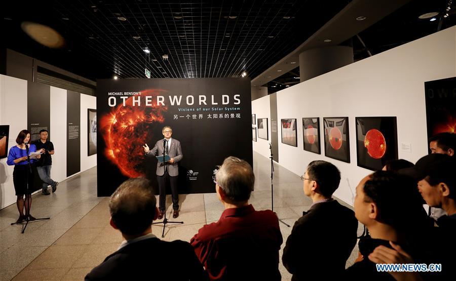"CHINA-SHANGHAI-ART-PHOTOGRAPHY-MICHAEL BENSON-""OTHERWORLDS""-EXHIBITION (CN)"