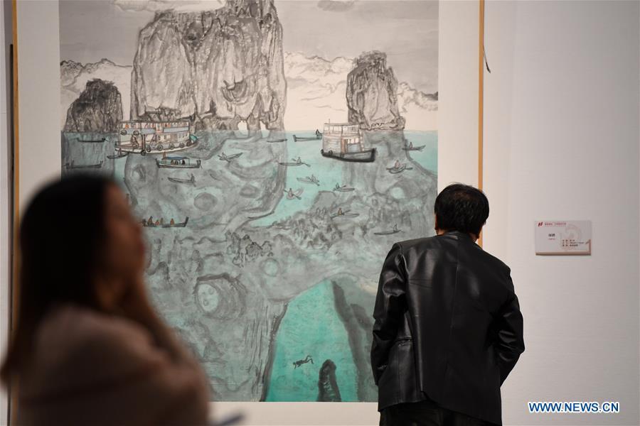 CHINA-HUNAN-CHANGSHA-CHINESE PAINTING-BIENNALE (CN)